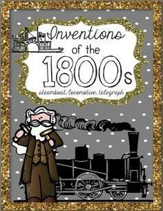 Inventions of the 1800s: Telegraph, Steamboat, Steam Engine Interactive Social Studies Notebook Sorting Activity