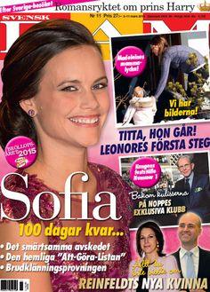 Sofia Hellqvist on the cover