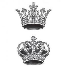 King & Queen Crown Temporary Tattoos These crowns are a royal pair, just like the two of you, so share this tattoo set with your one-and-only. Queen Crown Tattoo, King Queen Tattoo, King Tattoos, Body Art Tattoos, Sleeve Tattoos, King Crown Drawing, Princess Crown Tattoos, Tattoo Crown, Small Crown Tattoo
