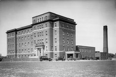 (***both my granddaughter and I born here, 53 years & 5 months apart***) East General Hospital 1928 Ontario Place, Toronto Ontario Canada, America And Canada, Historical Architecture, General Hospital, Old City, Landscape Photos, Abandoned Places, 5 Months