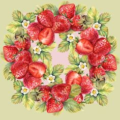 Strawberries on Behance