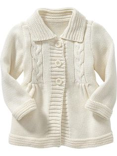 Cable Sweater Coats for Baby Product Image