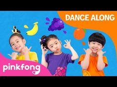 Fruit Juice   Shake Shake Shake it   Dance Along   Pinkfong Dance Along for Children - YouTube Songs For Dance, Dance Sing, Kids Songs, English Activities, Music Activities, Kg Rhymes, Juice Song, Fruit Song, Phonics Song