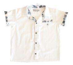 Crisp white Button down shirt for boys. White Button Down Shirt, Button Downs, Boys Shirts, Boy Fashion, Safari, Kids Outfits, Men Casual, Etsy Shop, Gray