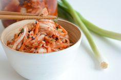 Koreansk kimchi på en enkel måte - Just another food story