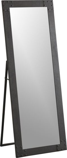 Elgin Floor Mirror  | Crate and Barrel