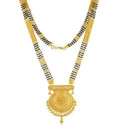 Gold Mangalsutra Design Gold Jewellery Mangalsutra 22k
