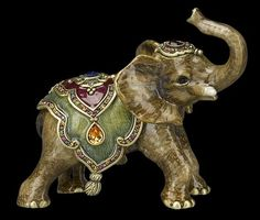 "Jay Strongwater ""Ellie"" Baby Elephant Figurine"