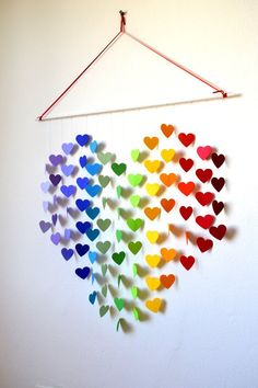 27 Amazing DIY 3D Wall Art Ideas | Daily source for inspiration and fresh ideas on Architecture, Art and Design