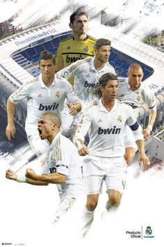 Real Madrid Varios Jugadores 2011/2012 Posters from AllPosters.com