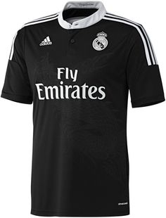 New Real Madrid Champions League Jersey 2014/2015- Adidas Black Madrid Dragon Kit 14/15