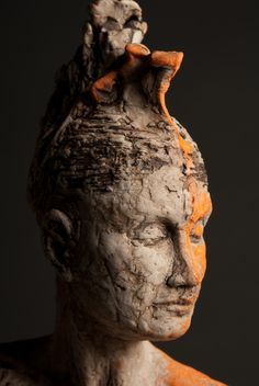 Warrior ~ exhibiting at Flourish Studios Aug. Sculpture Images, Sculpture Projects, Sculpture Art, Ceramic Sculpture Figurative, Ceramic Sculptures, Chicago Artists, Pottery Clay, Work Inspiration, Creative Thinking
