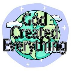 Creation Bible Lessons