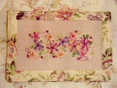 Looking for embroidery project inspiration? Check out Silk Ribbon Embroidery Sewing Wallet by member CountryGarden. - via @Craftsy