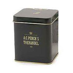Tea from Perch's, The-dåse 250 g. Grøn 30 kr. pr. dåse 3 stk eller 4