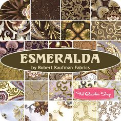Esmeralda Yardage Robert Kaufman Fabrics - Fat Quarter Shop