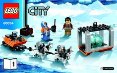 View LEGO instructions for Arctic Helicrane set number 60034 to help you build these LEGO sets