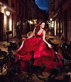 "Kiss Superstition Goodbye – Italian alcohol beverage brand Campari enlists Penelope Cruz for its 2013 calendar aptly titled ""Kiss Superstition Goodbye""."