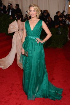 Dianna Agron at Met Ball