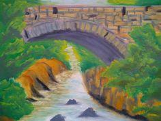 Old Stone Bridge: Writer mulling around....