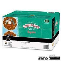 Green Mountain Coffee The Orginal Donut Shop Coffee (80 K-Cups)