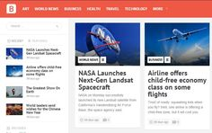Bayside! Mashable Style WordPress Theme - News - Bubblews