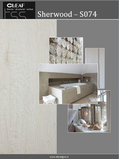 VRI interieur moodboard Decolegno structuur Sherwood S074 wit / creme robuust eiken hout