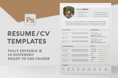 Resume / CV Template @creativework247