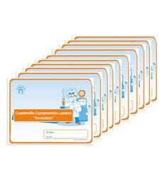 Pack Cuadernillo Comprensión Lectora Inventos -> http://www.masterwise.cl/productos/14-lenguaje-y-comunicacion/1822-pack-cuadernillo-comprension-lectora-inventos