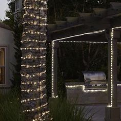 Led Rope Lights Lowes Prepossessing Shop Utilitech Pro Warm White Led Rope Light Actual 12Ft At Decorating Design