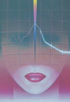 ~An Artist is nothing~ without~an~audience Light Grid, 1980s Art, New Retro Wave, 80s Aesthetic, Retro Pop, 80s Pop, Retro Images, Wave Art, Airbrush Art