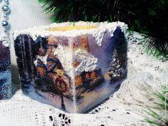 Декупаж - Сайт любителей декупажа - DCPG.RU | Новогодние подсвечники Christmas Decoupage, Cake, Desserts, Blog, Decorated Candles, Tailgate Desserts, Deserts, Kuchen, Postres