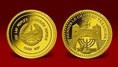 Złota moneta Rennes le Chateau