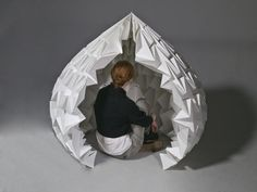 i love the use of the platonic solids to create a shape that isn't necessarily geometric:
