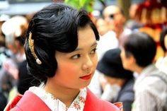 振袖女性の時代に観る、髪型文化 - kimonon