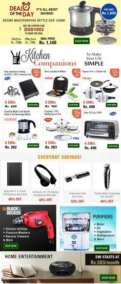 Handy Kitchen  Utilities on EMI! Best Prices with Up to 41% OFF - Shop Now! Emibazaar.com