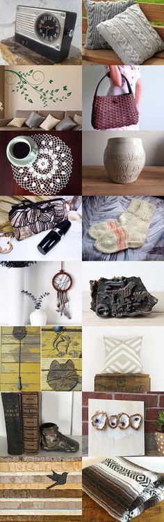 Eclectic Home by Sarah and Eddie Gumbrecht on Etsy--Pinned+with+TreasuryPin.com