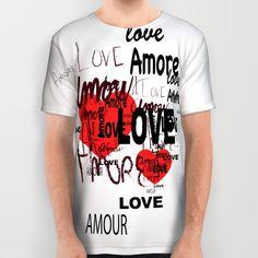 #LOVE #shirt #valentine #amore #amour #SanValentino
