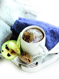 Kruidige appel-dadel mug cake | Gezond eten magazine