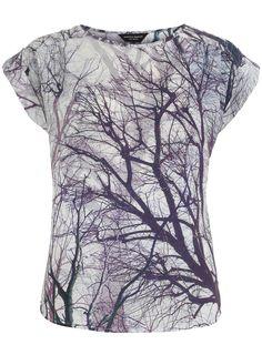 Purple tree tee from Dorothy Perkins