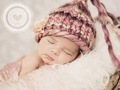 LOVE this hat!! -Mützen - Babymütze - ein Designerstück von by-Namischa bei DaWanda