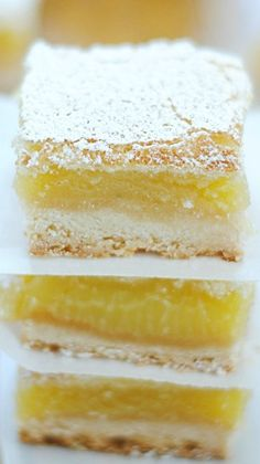 Ina Garten's Lemon Bars they are fantastic! I just made them
