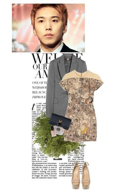 """""""What to do tonight ~"""" by redmushroom ❤ liked on Polyvore featuring Ultimate, Crate and Barrel, STELLA McCARTNEY, Cacharel, Giuseppe Zanotti, Gucci and Deborah Lippmann"""