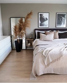 Home Decor Bedroom .Home Decor Bedroom Bedroom Inspo, Home Decor Bedroom, Bedroom Inspiration, Diy Bedroom, Scandi Bedroom, Bedroom Black, Bedroom Ideas, Master Bedroom, Design Inspiration