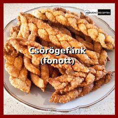 Farsangra készíts a hagyományostól eltérő alakú, fonott csörögefánkot! #fánk #farsang #recept #süti Meat, Chicken, Food, Essen, Meals, Yemek, Eten, Cubs
