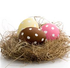 Make a Grass & Stick Basket outside and by morning the Easter Bunny (You) can drop an Egg in it for your child to find... Fun Fun Fun