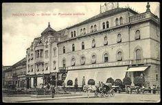 El modernista hotel Pannónia en la emblemática plaza Brémer (hoy Ferdinand) de la ciudad