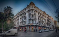 Paris Street Tunis Tunisia by HabiboBejaoui. Please Like http://fb.me/go4photos and Follow @go4fotos Thank You. :-)
