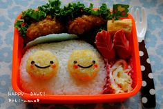 fried egg bento
