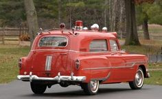 Ambulance, Rescue Vehicles, Police Vehicles, Pontiac Chieftain, Station Wagon Cars, Fire Equipment, Work Horses, Emergency Vehicles, Fire Engine